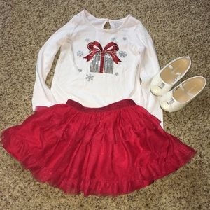 Children's Place Christmas Girls Outfit size 3T